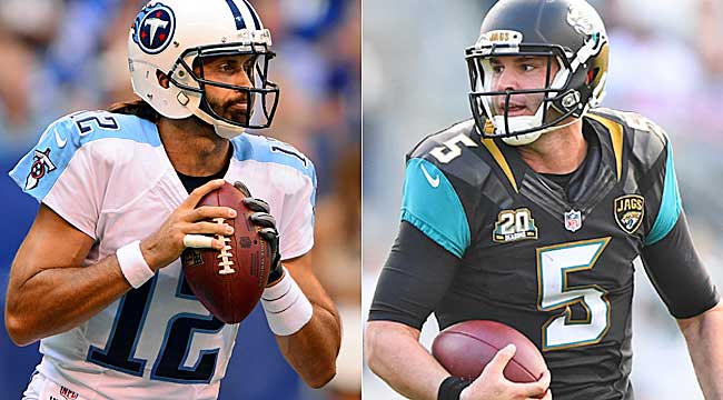 8:25 ET: Titans-Jags look to finish strong