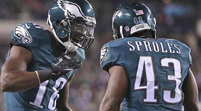 Stats to know: Eagles too fast for Redskins