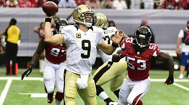 LIVE: Saints, Falcons fight for NFC South lead