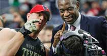 J.J. Watt, Dikembe Mutombo (Getty Images)
