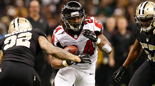 LIVE: Freeman, Falcons pull ahead at Saints