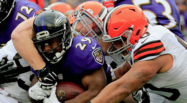 LIVE: Ravens need win, help to get in playoffs