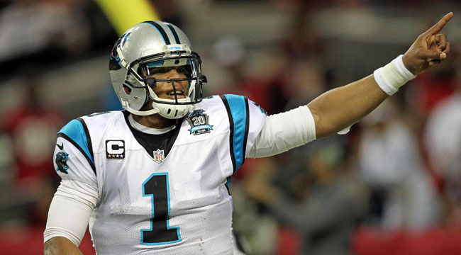 LIVE: Panthers up big on Falcons for playoff bid