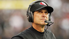 Harbaugh officially out of SF