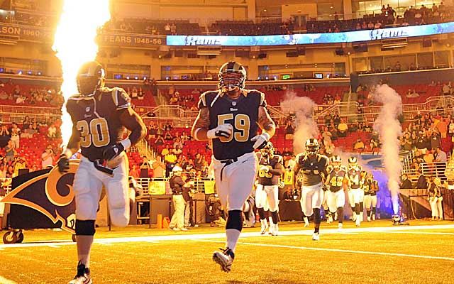 With no lease for 2015, the Rams future in St. Louis remains uncertain. (USATSI)