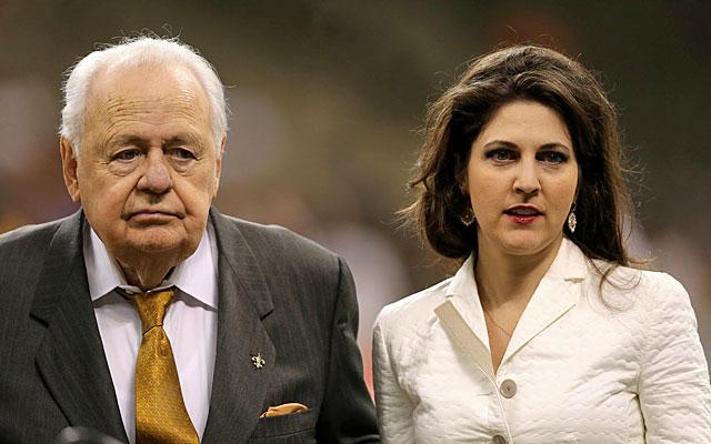 Rita Benson LeBlanc has had a tumultuous relationship with grandfather/Saints owner Tom Benson. (USATSI)