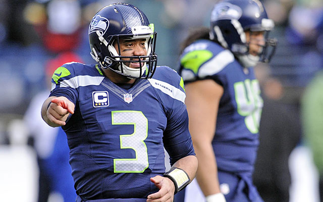 Russell Wilson, seeking his second straight NFL title, is dangerous outside the pocket. (USATSI)