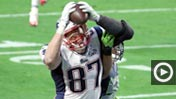 Rob Gronkowski TD; K.J. Wright 650 (Getty Images)
