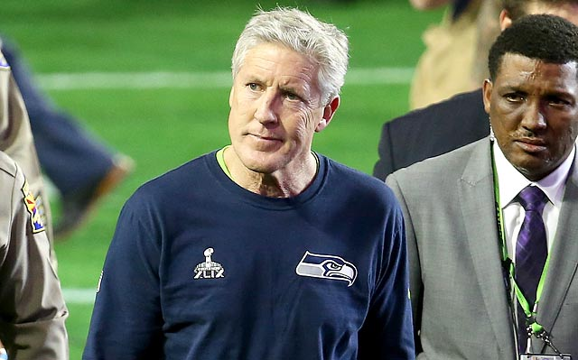 Despite all his accomplishments, Pete Carroll might never live down his second-and-goal decision.
