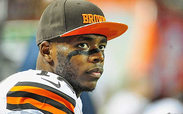 Josh Gordon is suspended for the entire 2015 NFL season. (Getty Images)
