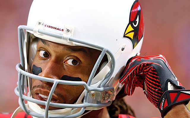 Will Larry Fitzgerald wind up a cap casualty in Arizona?  (Getty Images)
