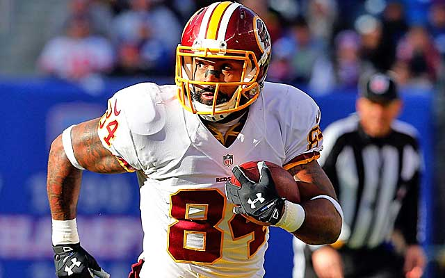 Niles Paul is a big-play tight end who, at 25, has his best football ahead of him.(Getty Images)