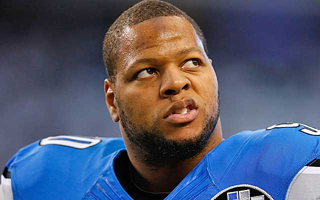 Ndamukong Suh is the second-most disruptive force in the NFL.  (Getty Images)