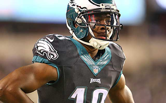 Jeremy Maclin wants to be paid like an elite WR. (Getty Images)