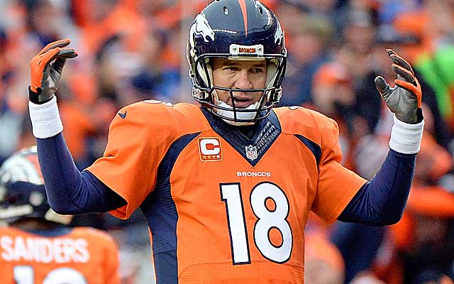Peyton Manning may not like getting asked to take less money. (Getty Images)