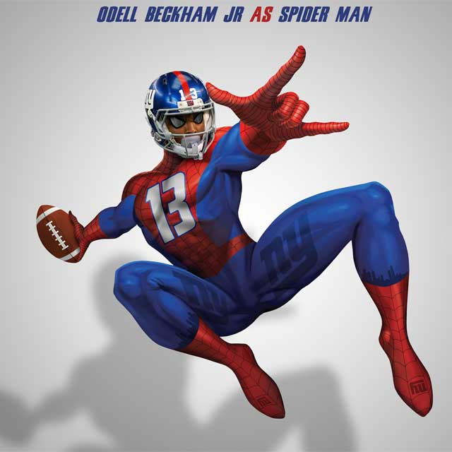 Look Nfl Stars As Your Favorite Super Heroes Cbssports Com