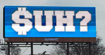 Suh billboard (screen grab)