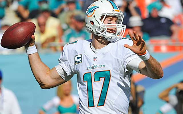 Ryan Tannehill appears to be growing into a franchise QB in Miami.  (USATSI)