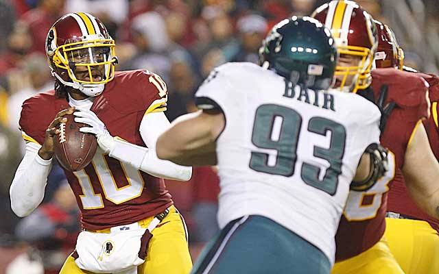 Can RG3 rediscover his rookie form?  (USATSI)