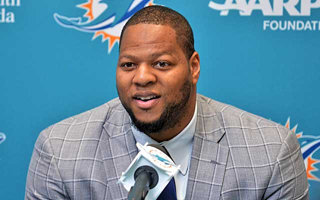 The Dolphins reel in the biggest fish in free agency in Ndamukong Suh. (USATSI)