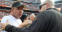 Sean Payton, Mike Pettine (Getty Images)