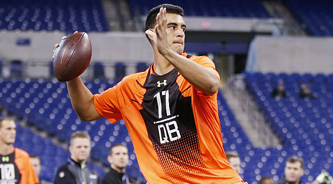 Brugler's mock: Mariota goes No. 5 to Redskins