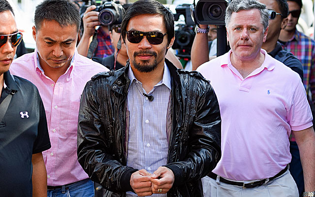 Manny Pacquiao has big plans after his boxing career ends.  (Getty Images)
