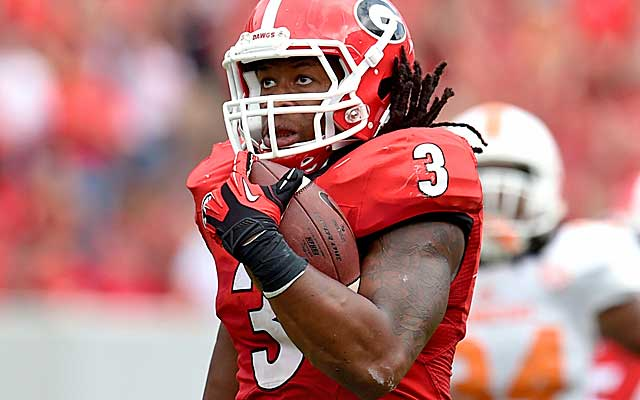The Cardinals fill a huge need with Todd Gurley.  (Getty Images)