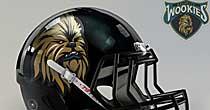 Chewbacca helmet