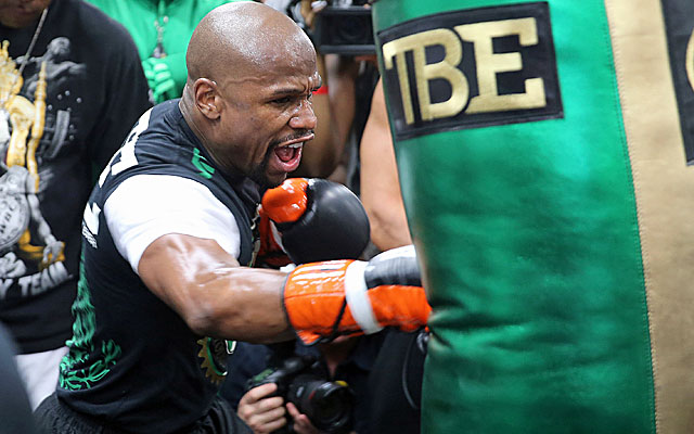 Oscar De La Hoya says referee Kenny Bayless favors Floyd Mayweather.  (Getty Images)