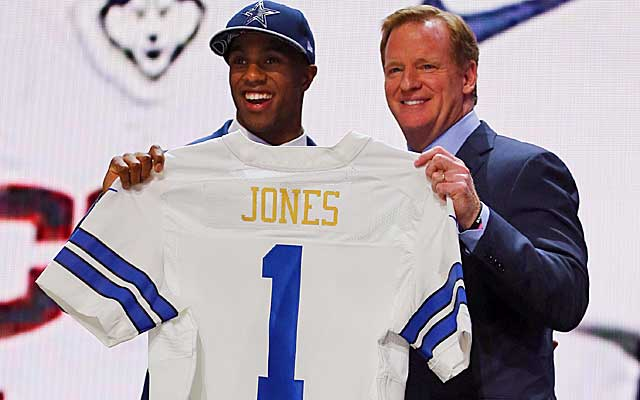 2015 NFL Draft: Cowboys pick CB Byron Jones '10 at 27
