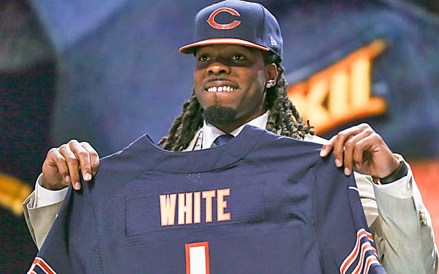 Kevin White is ready to fly in Chicago. (USATSI)