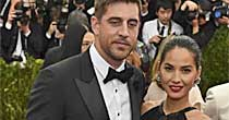 Aaron Rodgers, Olivia Munn (Green Bay Press-Gazette)
