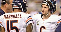 Brandon Marshall, Jay Cutler (Getty)