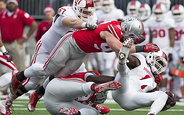 Joey Bosa is a one-man wrecking crew for the Buckeyes. (USATSI)