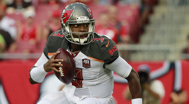 Live: Bucs' Winston tosses pick against Browns