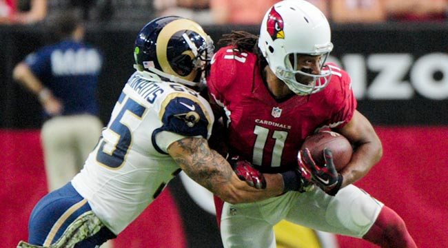 LIVE: Cardinals (3-0) look to keep rolling vs. Rams