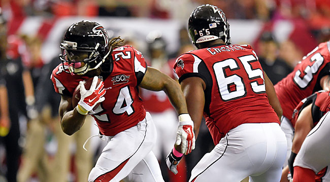 LIVE: Freeman TD puts ATL on on Texans (CBS)