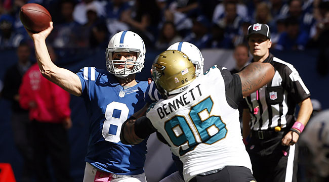 LIVE: Hasselbeck, Colts tied up vs. Jaguars (CBS)