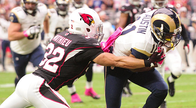 LIVE: Unbeaten Cards have hands full vs. Rams