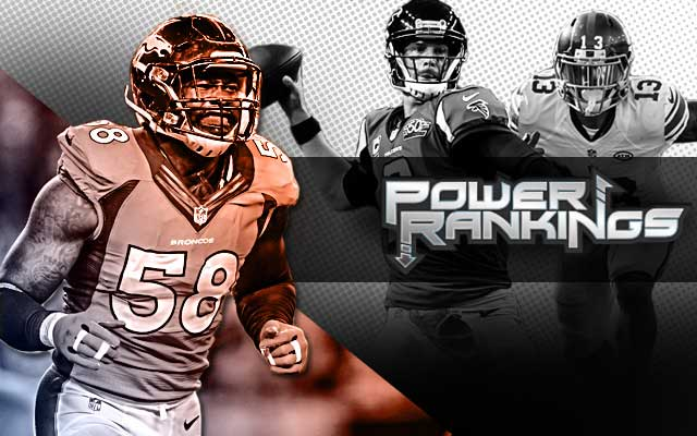 The Broncos' defense and the Matt Ryan-led Falcons are making noise. (CBSSports.com Original)