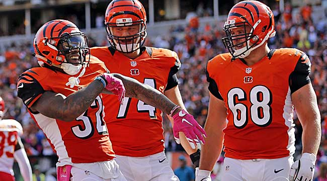 Kirwan Power Rankings: Bengals get groove back