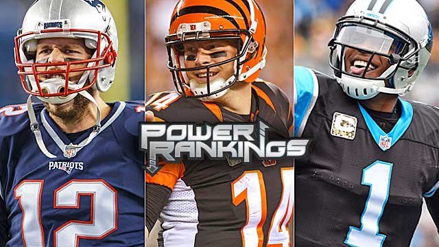 NFL Power Rankings: Perfect Pats, Bengals, Panthers not unbeatable - NFL - CBSSports.com