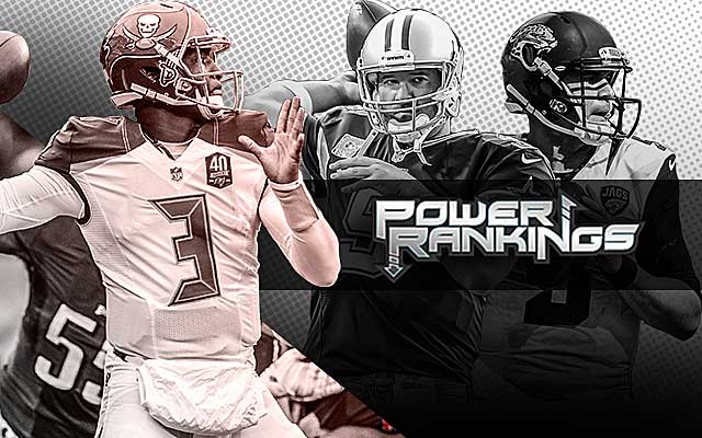 Jameis Winston, Tony Romo and Blake Bortles have their teams in the hunt. (CBSSports.com Original)