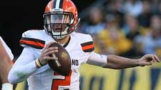 Browns bench Manziel