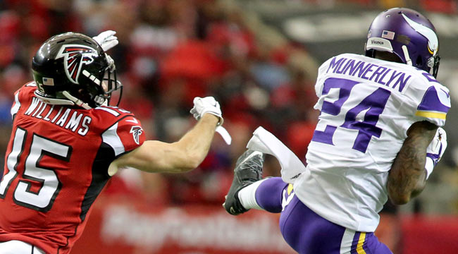 LIVE: Vikings on top, shutting down Falcons