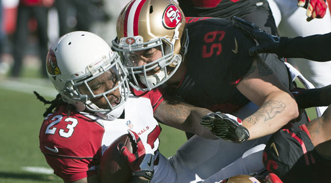 LIVE: Niners not backing down vs. Cards
