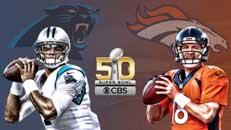 6:30 ET: Super Bowl 50 (CBS)