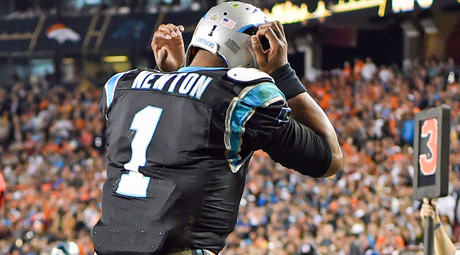 Newton, Panthers pick bad time for meltdown