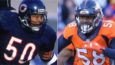 '15 Broncos vs. '85 Bears